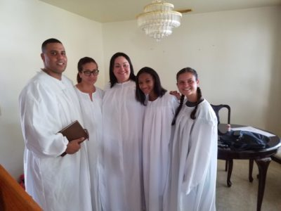 Four More Baptized