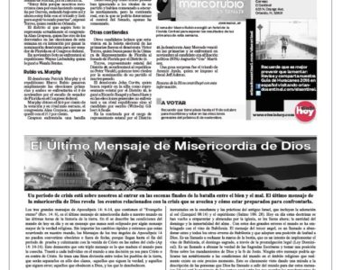 God's End Time Message Gets Published In Spanish Newspaper